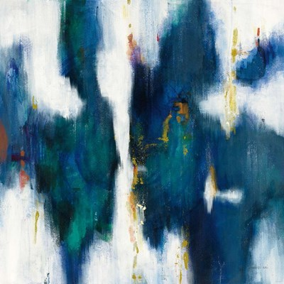 Blue Texture I art print by Danhui Nai for $58.75 CAD