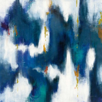 Blue Texture II art print by Danhui Nai for $58.75 CAD