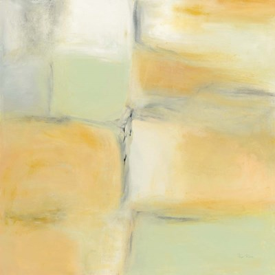 Gray Stone and Gold art print by Piper Rhue for $58.75 CAD