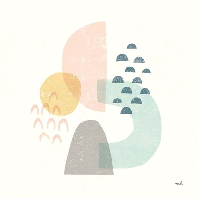 Happy Thoughts I art print by Moira Hershey for $36.25 CAD