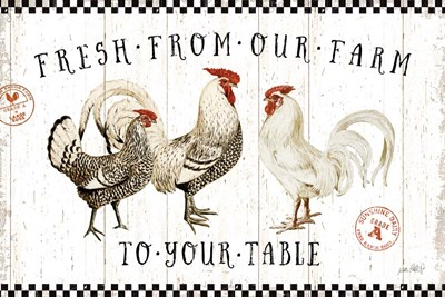Free Range Fresh I art print by Katie Pertiet for $46.25 CAD