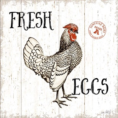 Free Range Fresh IV art print by Katie Pertiet for $51.25 CAD
