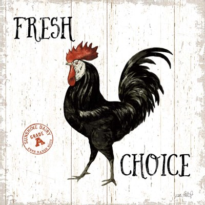 Free Range Fresh V art print by Katie Pertiet for $51.25 CAD