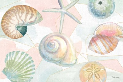 Watercolor Coast IV art print by Beth Grove for $46.25 CAD