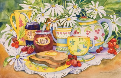 Jam and Jelly art print by Kathleen Parr McKenna for $45.00 CAD
