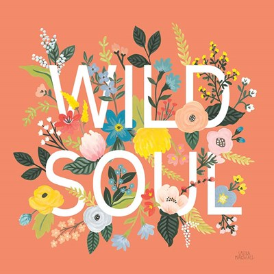 Wild Garden I art print by Laura Marshall for $67.50 CAD