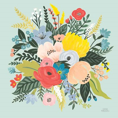 Wild Garden V art print by Laura Marshall for $67.50 CAD