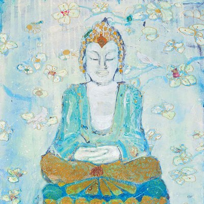 Buddha Square art print by Kellie Day for $83.75 CAD