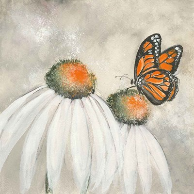 Butterflies are Free II art print by Chris Paschke for $58.75 CAD