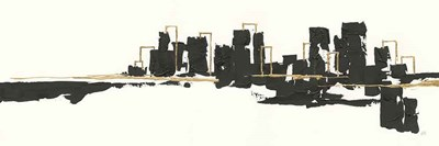 Gilded City I art print by Chris Paschke for $70.00 CAD
