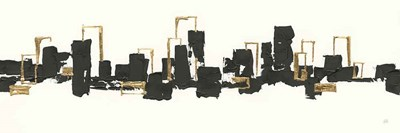 Gilded City III art print by Chris Paschke for $70.00 CAD