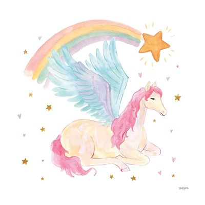 Magical Friends II art print by Jenaya Jackson for $58.75 CAD