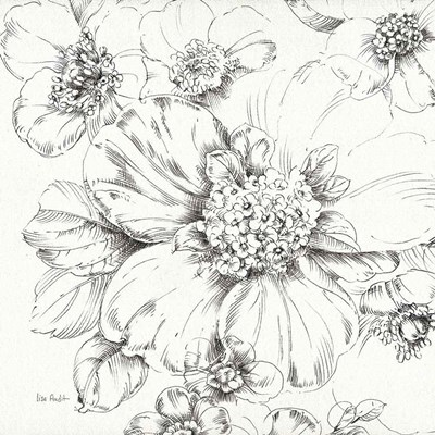 Summer Bloom III BW art print by Lisa Audit for $83.75 CAD