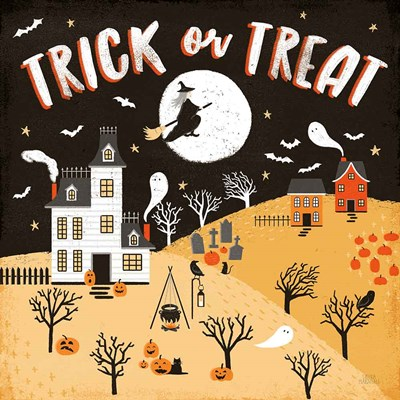 Spooky Village III art print by Laura Marshall for $51.25 CAD