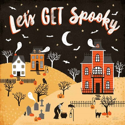 Spooky Village IV art print by Laura Marshall for $51.25 CAD
