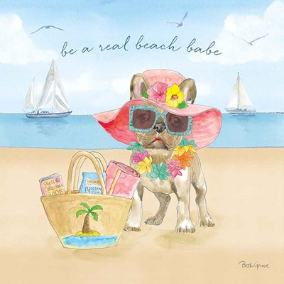 Summer Paws IV art print by Beth Grove for $67.50 CAD