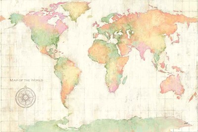 Bright World art print by Julia Purinton for $65.00 CAD