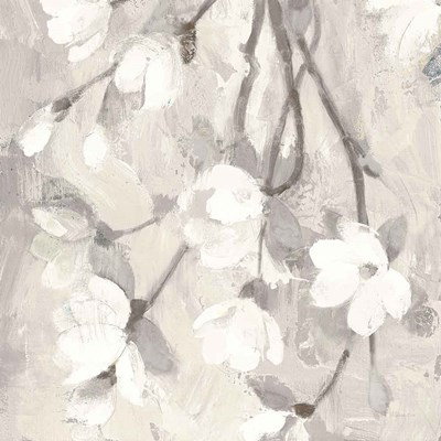 Magnolia Branch Flipped Cream Crop art print by Albena Hristova for $58.75 CAD