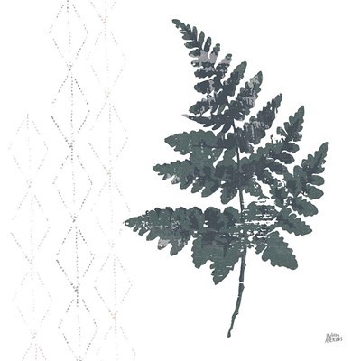 Nordic Fern II art print by Melissa Averinos for $58.75 CAD