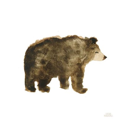 Woodland Whimsy Bear art print by Laura Marshall for $36.25 CAD