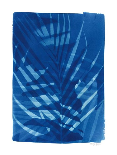 Cyanotype Tropical I art print by Nancy Green for $42.50 CAD