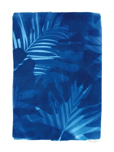 Cyanotype Tropical IV art print by Nancy Green for $42.50 CAD
