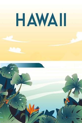 Hawaii art print by Omar Escalante for $46.25 CAD