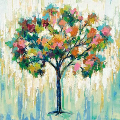 Blooming Tree art print by Silvia Vassileva for $67.50 CAD