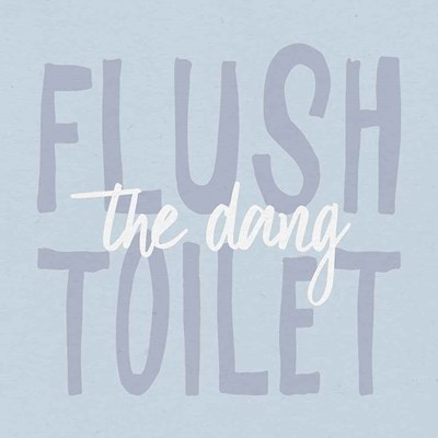 Bathroom Advice III art print by Wild Apple Portfolio for $51.25 CAD