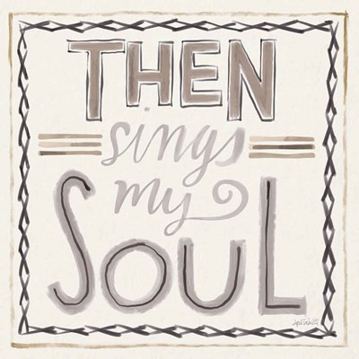 Then Sings I art print by Anne Tavoletti for $51.25 CAD