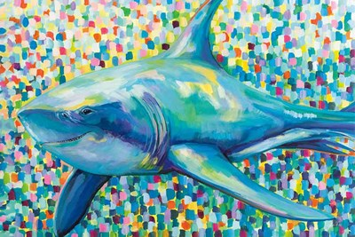 Chatham Shark art print by Jeanette Vertentes for $65.00 CAD