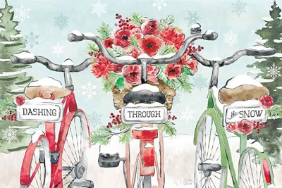 Holiday Ride IV art print by Dina June for $46.25 CAD