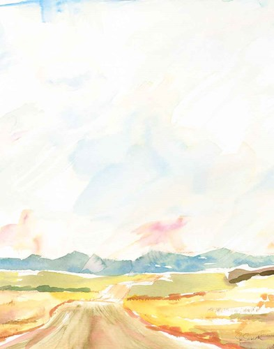 Road to Bountiful Vertical Crop art print by Sue Schlabach for $58.75 CAD