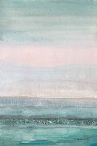 Pastel Seascape art print by Danhui Nai for $75.00 CAD