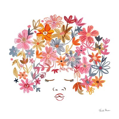 Floral Beauties II art print by Farida Zaman for $36.25 CAD