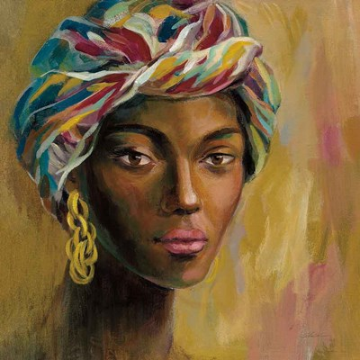 African Face I art print by Silvia Vassileva for $83.75 CAD