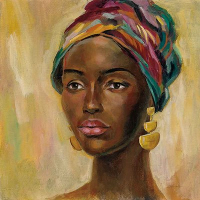African Face II art print by Silvia Vassileva for $83.75 CAD