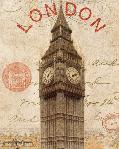 Letter from London art print by Wild Apple Portfolio for $41.25 CAD