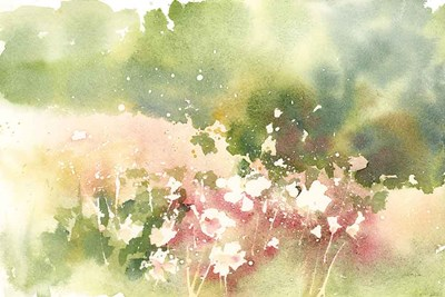 Floral Field art print by Katrina Pete for $65.00 CAD
