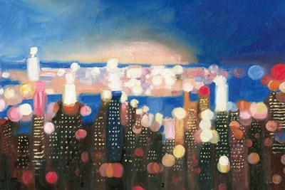 City Lights art print by James Wiens for $65.00 CAD