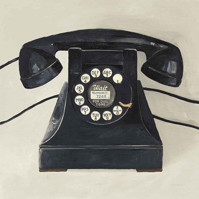 Classic Telephone on Cream art print by Avery Tillmon for $67.50 CAD
