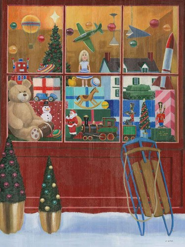 Holiday Moments III Crop art print by James Wiens for $42.50 CAD