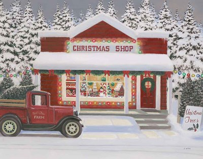 Holiday Moments II Gray art print by James Wiens for $57.50 CAD