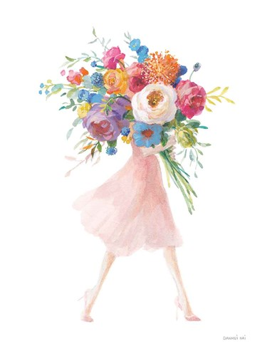 Bursting with Flowers II art print by Danhui Nai for $56.25 CAD
