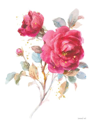 Bold Roses I art print by Danhui Nai for $90.00 CAD