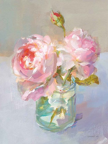 Sweet Roses I art print by Danhui Nai for $70.00 CAD