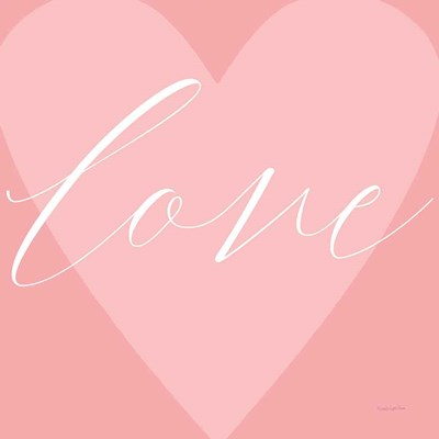Love Heart art print by Mercedes Lopez Charro for $67.50 CAD
