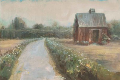 Road to the Fields Neutral art print by Danhui Nai for $65.00 CAD