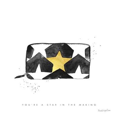 Glitz and Glam XI art print by Mercedes Lopez Charro for $58.75 CAD