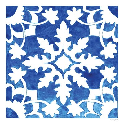 Andalusian Tile II art print by Mercedes Lopez Charro for $83.75 CAD